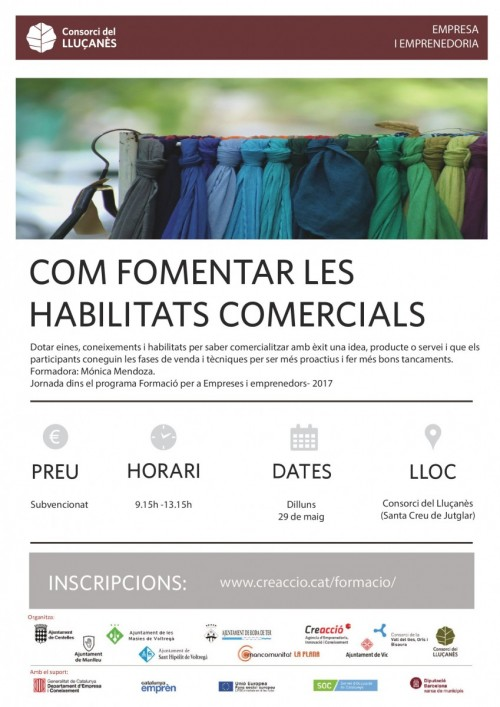 Cartell curs Consorci